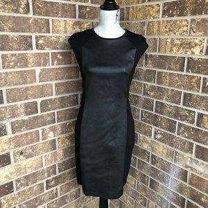 Derek Lam Cap Sleeve Black Dress
